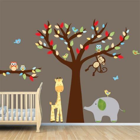 décoration bébé garcon chambre 25 idées stickers pour décorer la chambre de votre bébé