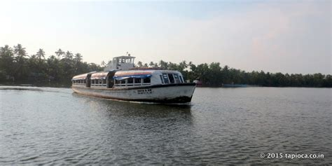 Boat Service From Vaikom by Kerala Travel Tips Kerala Backwaters On A Shoestring