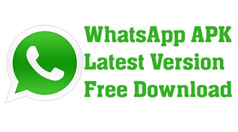 how to and install whatsapp apk for android
