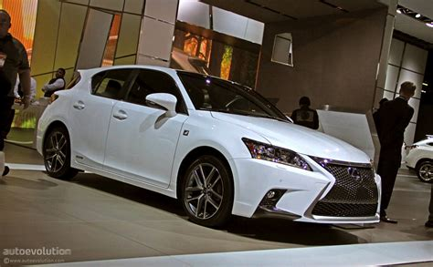2018 Lexus Ct 200h Shows Its Spindle In Detroit Live