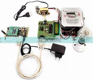 Microcontroller Based Wireless Energy Meter Working