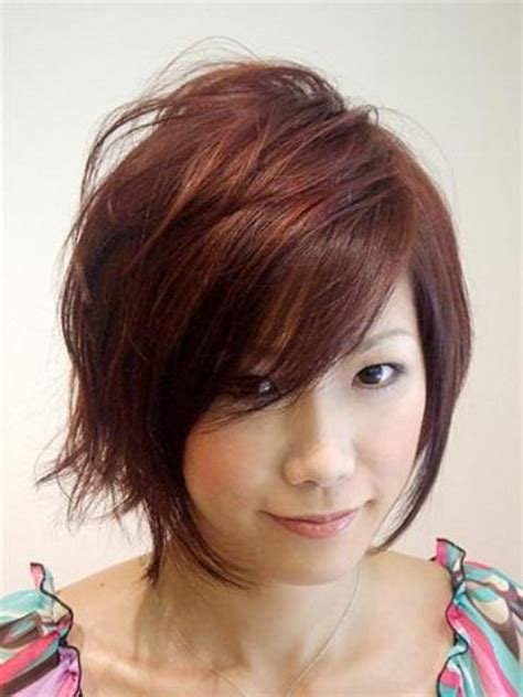 short hairstyles for round faces circletrest
