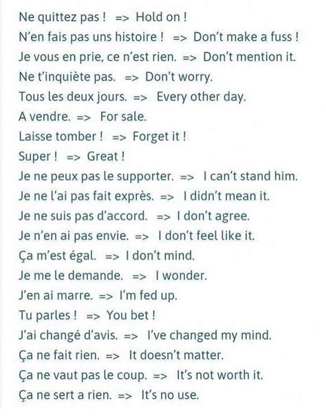 Pin by GerardoM on Franchute   Learn french, Basic french ...