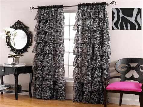 Animal Print Curtains Theme Bedroom Home Design Modern Fireplace Living Room Black Chair Covers Simple Small Interior Design Paint Color Ideas Blue And Grey Wall Mirror Designs Cupboard Decor Painting