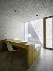 Schrankwand Mit Integriertem Schreibtisch : ideen mit bett und schreibtisch als platzsparende einrichtung ~ Sanjose-hotels-ca.com Haus und Dekorationen