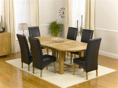 oak oval extending dining table 200 240cm 6
