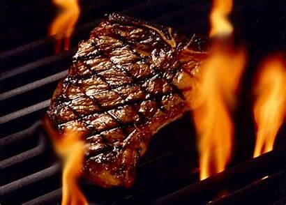 Steak Gifs Grill Steaks Viandes Giphy Animated