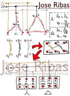 off three phase motor connection power control diagrams pinterest diagram electrical