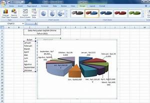 Trickandy  Cara Membuat Grafik Atau Chart Di Microsoft