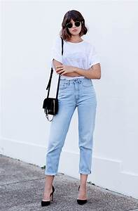1000+ ideas about Mom Jeans on Pinterest | Mom jeans outfit Boyfriend jeans and Boyfriend jeans ...