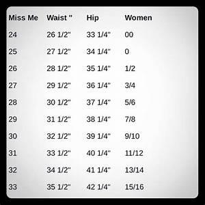 Gap Denim Size Chart Miss Me Jeans Size Chart Poshmark