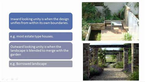 landscape principles landscape garden design principles youtube