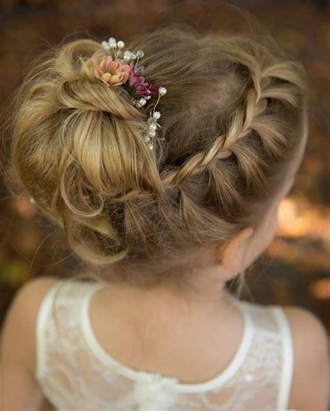 35 flower girl hairstyles hairstyles flower girl