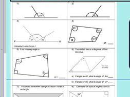 properties of rectangles or quadrilaterals missing