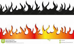 Frame clipart flame - Pencil and in color frame clipart flame