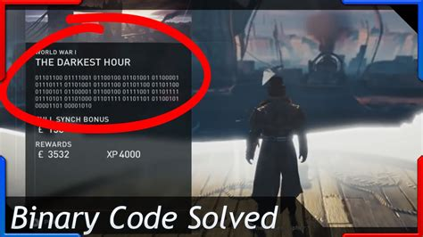 assassins creed syndicate binary code  darkest hour