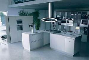 Ilot Centrale Pas Cher : hote cuisine ilot central ~ Dailycaller-alerts.com Idées de Décoration