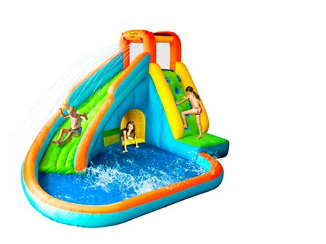 Inflatable Swimming Pool With Slide For Kids  Pool Design