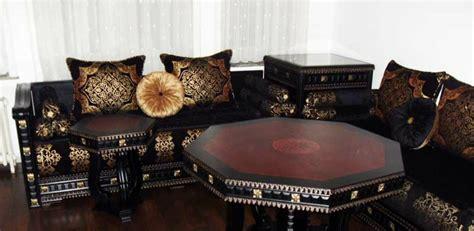 coussins pour canapé tissus de salon marocain salon marocain
