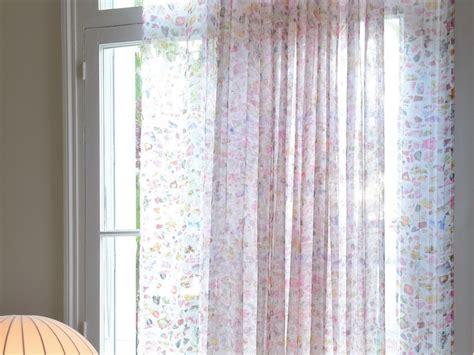 tissu en pour rideaux porcelaine by elitis