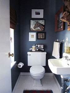 eye candy 10 bathrooms that have gone to the dark side With flat paint in bathroom
