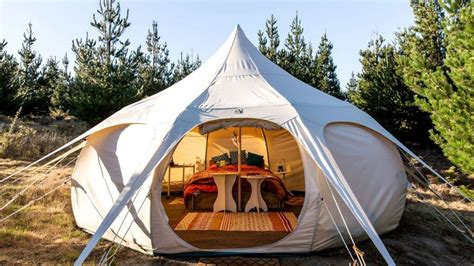 luxurious camping options  people    sleep