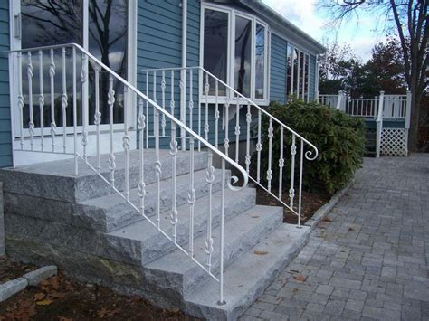 Wrought Iron Exterior Balcony Railing 2step Outdoor