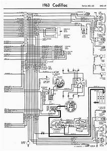Wiring Diagram For 1963 Cadillac 60 And 62 Series Part 2