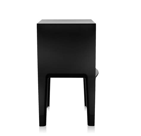 Comodini Kartell Ghost Buster by Kartell Comodino Small Ghost Buster Nero Pmma Colorato