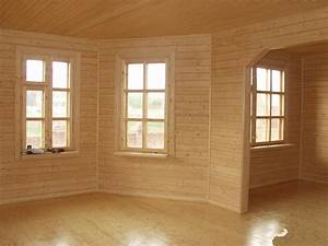Pose De Lambris Bois : finition mur lambris bois ~ Premium-room.com Idées de Décoration