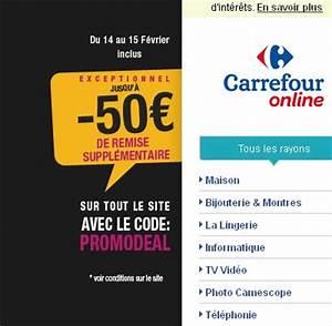 Tv Soldes Carrefour : code de r duction sur le site carrefour bons plans et astuces ~ Teatrodelosmanantiales.com Idées de Décoration