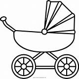 Carriage Clipart Drawing Coloring Stroller Gold Transparent Getdrawings Pages Clipartmag Icons Kawaii Noun Printable Getcolorings Colori sketch template