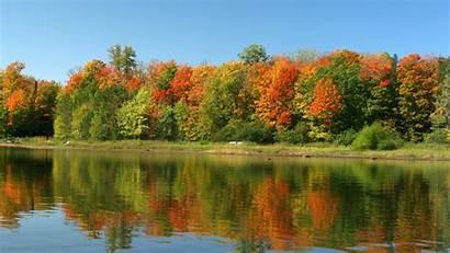 Scenes Water Desktop Autumn Wallpapers Country Wallpapersafari