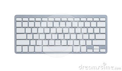 blank computer keyboard  clipping path royalty  stock photography image