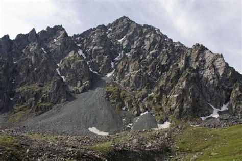 Rocky Mountain Near Alaköl Pass  Alaköl Hike Karakol