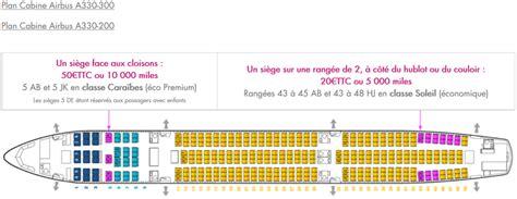 siege avion air air caraïbes réservation en ligne de billet choix du siège