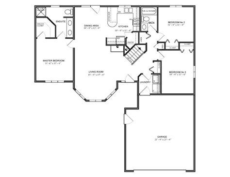 Bungalow Floor Plans Canada