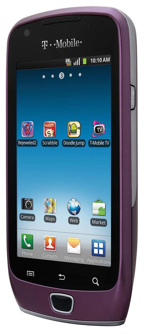 samsung exhibit  bluetooth android purple phone unlocked
