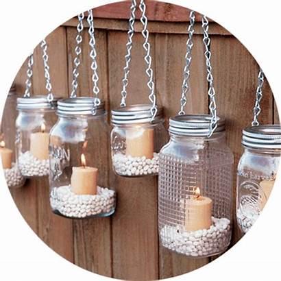 Upcycling Diy Jar Mason Candle Holders Decor
