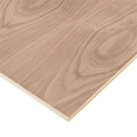 home depot flooring plywood columbia forest products 3 4 in x 2 ft x 4 ft purebond walnut plywood project panel free