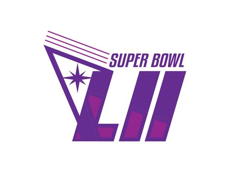 How To Create A Logo For Super Bowl 52 Like The Logos Of Old