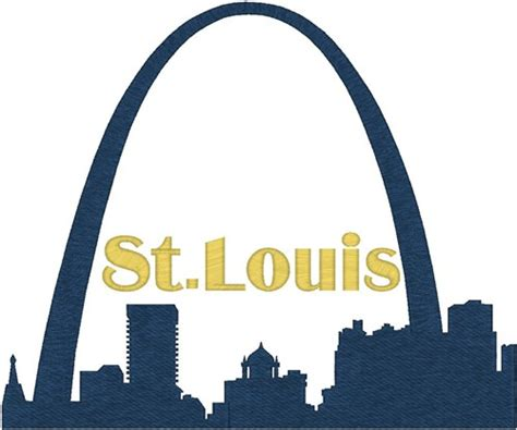 st louis arch embroidery designs machine embroidery designs at embroiderydesigns com