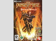 Dungeon Siege II Broken World 2006 Windows box cover