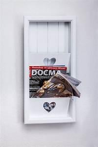 Zeitschriftenhalter Wand Weiß : ber ideen zu zeitungsst nder auf pinterest mitte ~ Michelbontemps.com Haus und Dekorationen