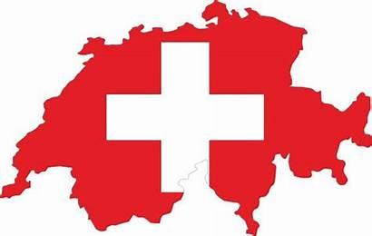 Switzerland Flag Swiss Vector Clip Map Europe