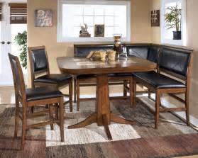 dining room table corner bench set crofton ebay - Corner Dining Room Set