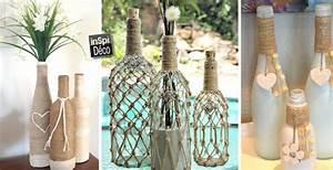 Deco De Noel Avec Bouteille En Plastique : idee decoration bouteille en verre ~ Dallasstarsshop.com Idées de Décoration