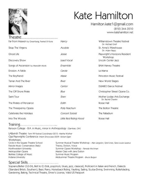 The Resume by 13 Resume Exle For Sle Resumes Sle