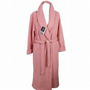 robe de chambre laine des pyrenees croise col chale praline With robe de chambre laine des pyrénées