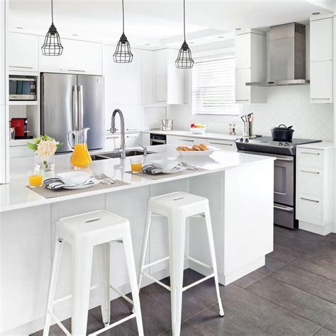 cuisine blanche et cuisine blanche minimaliste cuisine inspirations